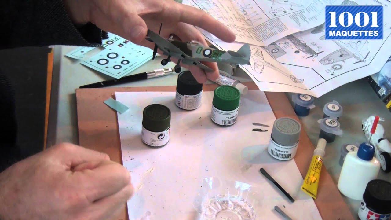 Tutoriel 1001 Maquettes N5 La Pose Des Décalcomanies Youtube