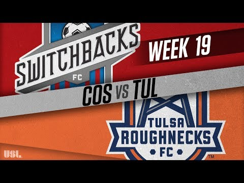 Colorado Springs Switchbacks FC vs Tulsa Roughnecks FC: July 21, 2018