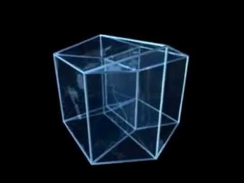 this is a projection of a hypercube youtube