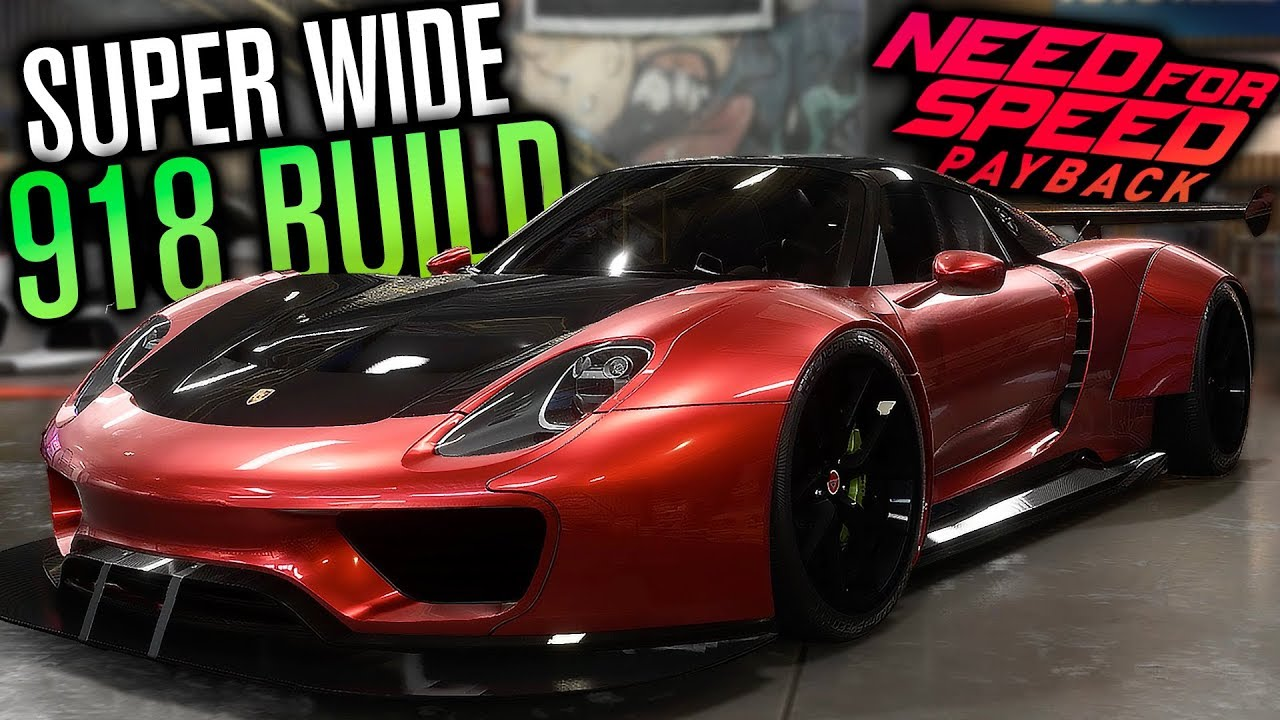 Need For Speed Payback Super Wide Porsche 918