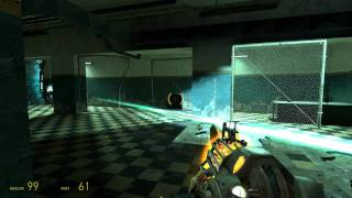 Half-Life 2 Walkthrough Part 9 - Nova Prospekt