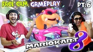 Mario Kart 8 - Mom & Dad Race to Get Morton (Flower Cup CC Lets Play pt. 6)