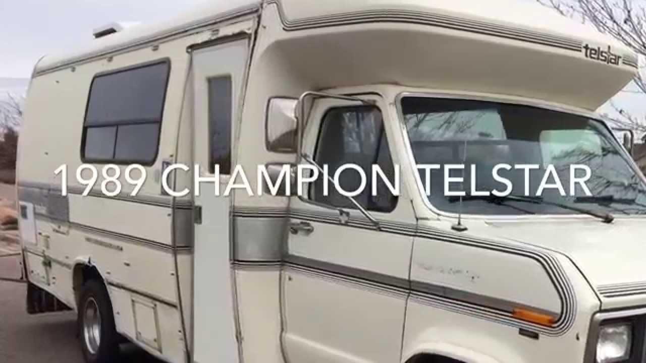 1989 CHAMPION TELSTAR RV - YouTube
