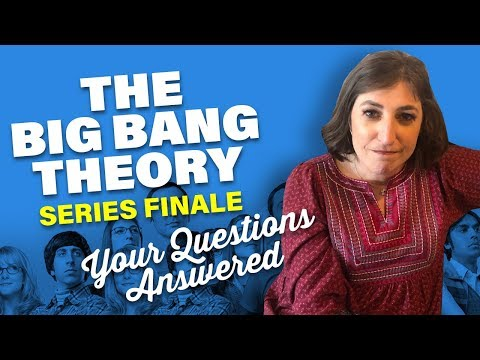 The Big Bang Theory Finale: Questions Answered || Mayim Bialik