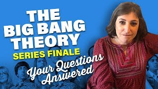 The Big Bang Theory Finale: Questions Answered || Mayim Bialik Video