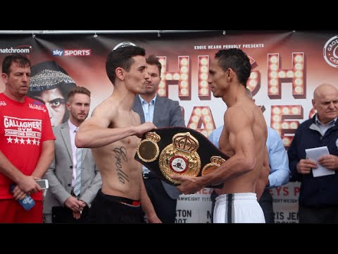 ANTHONY CROLLA v DARLEYS PEREZ - OFFICIAL WEIGH IN VIDEO (FROM MANCHESTER) / HIGH STAKES