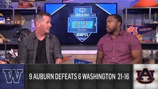 What does Washington's loss to Auburn mean for Pac-12? | The College Football Show | ESPN