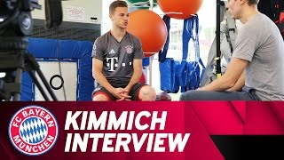Joshua Kimmich on his Strength Training | Interview