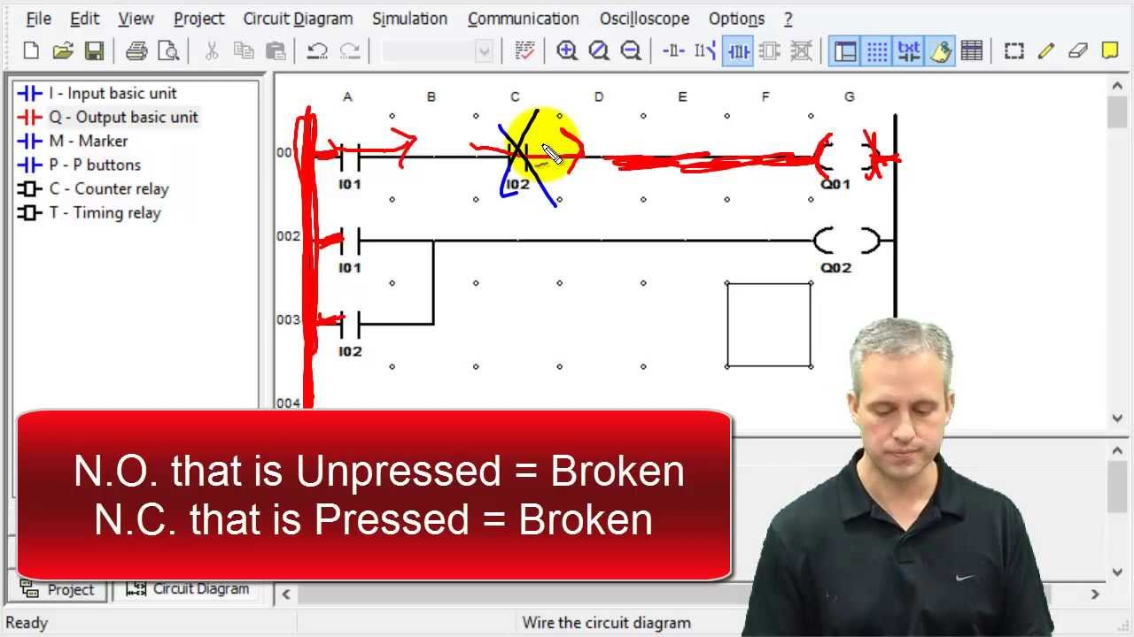 Me430 Logic Circuits With Ladder Youtube Diagram Pictures