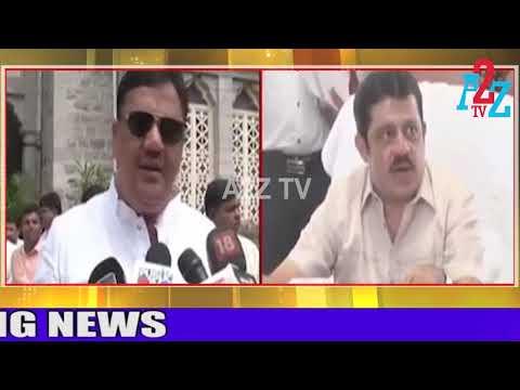 B.Z.Zameer Ahmed Khan gave counter back to Tanveer Sait, A2Z TV
