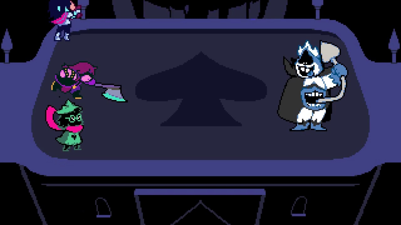 Delta Rune Blind 10 Overthrowing The King Of Spades Youtube