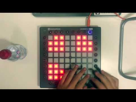 Launchpad pro: Martin Garrix & Bebe Rexha-In the name of love (by Yhugo Slave)