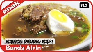Resep Masakan Rawon Daging Sapi Mudah Simpel Cooking Recipes Indonesia Bunda Airin