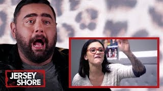 Snooki's BFF Reacts to the CRAZIEST FIGHTS from 'Family Vacation' | Jersey Shore | MTV Reacts