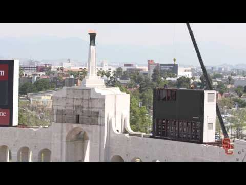 LA Coliseum - New Video Boards