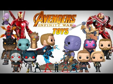 Avengers Infinity War  Compilation of all Toys 1