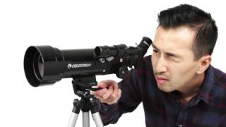 Celestron Travel Scope 70 x 400mm Portable Refractor Telescope