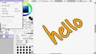 SAI Paint Tool: The Increment Selection Trick Re-do