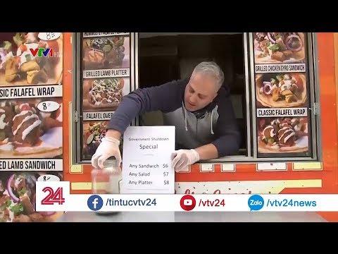 Chính phủ Mỹ đóng cửa, đến cả người bán hàng dạo cũng bị ảnh hưởng  VTV24