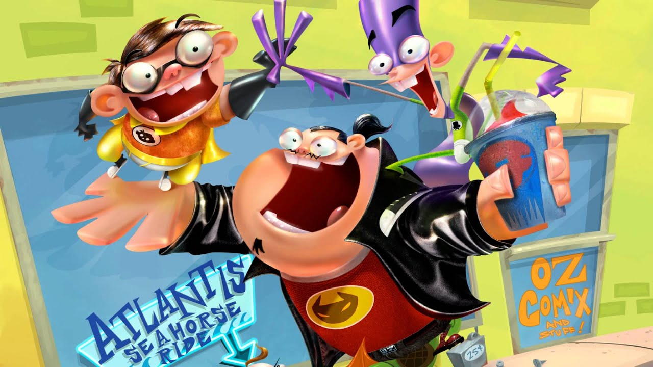 Fanboy And Chum Chum Theme Song Intro Hq With Lyrics Youtube