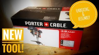 New Tool Unboxing - Porter Cable Bench-top drill press