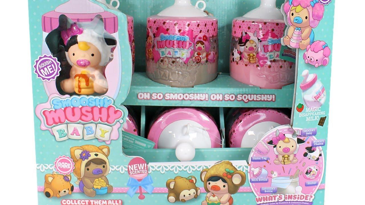 Smooshy Mushy Baby Series 2 Blind Box Full Case Unboxing