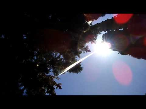 Weird 2nd sun and sun rays during intense solar wind speed may 20 2017