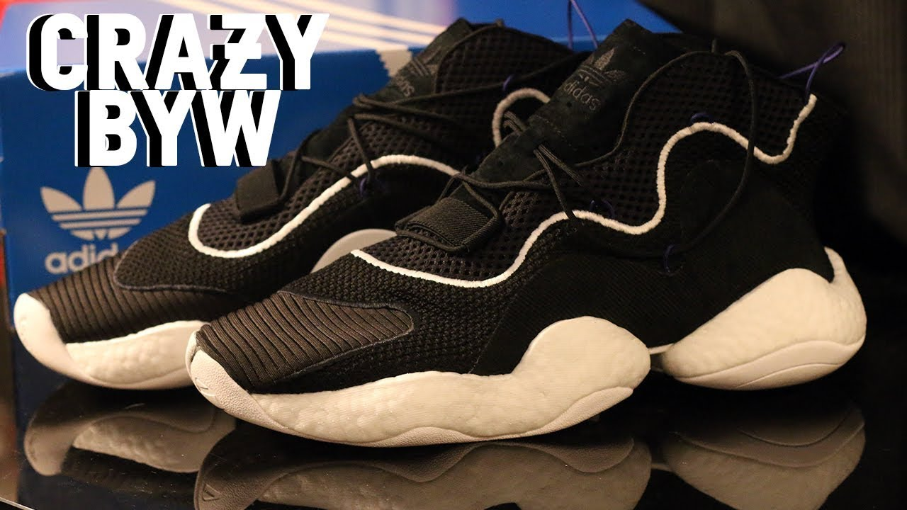 b6fc4a897 ADIDAS CRAZY BYW (BOOST YOU WEAR) REVIEW - YouTube