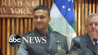 NYPD officer fights off attackers