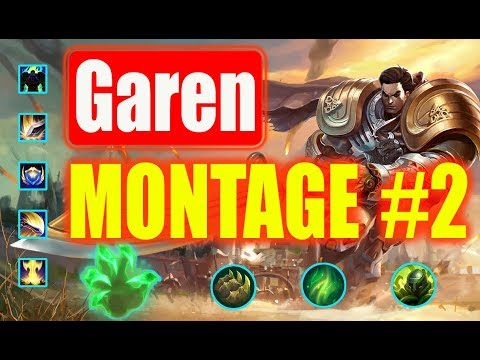 Garen Montage #2   | 1500 AD ONE SHOT |  League of Legends