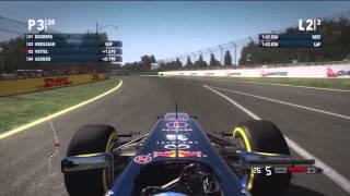 F1 2012 (Xbox 360) Race at Melbourne (Australian Grand Prix)