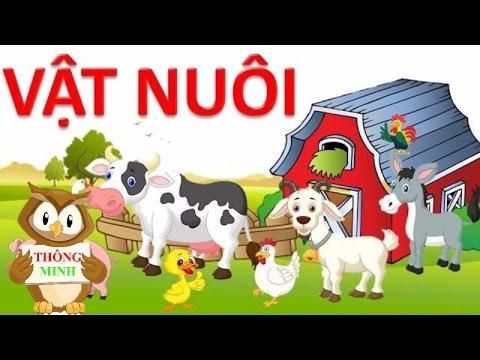 Dạy bé học nói con vật tiếng việt | bé tập nói sớm qua các loài động vật | dạy trẻ thông minh sớm 16