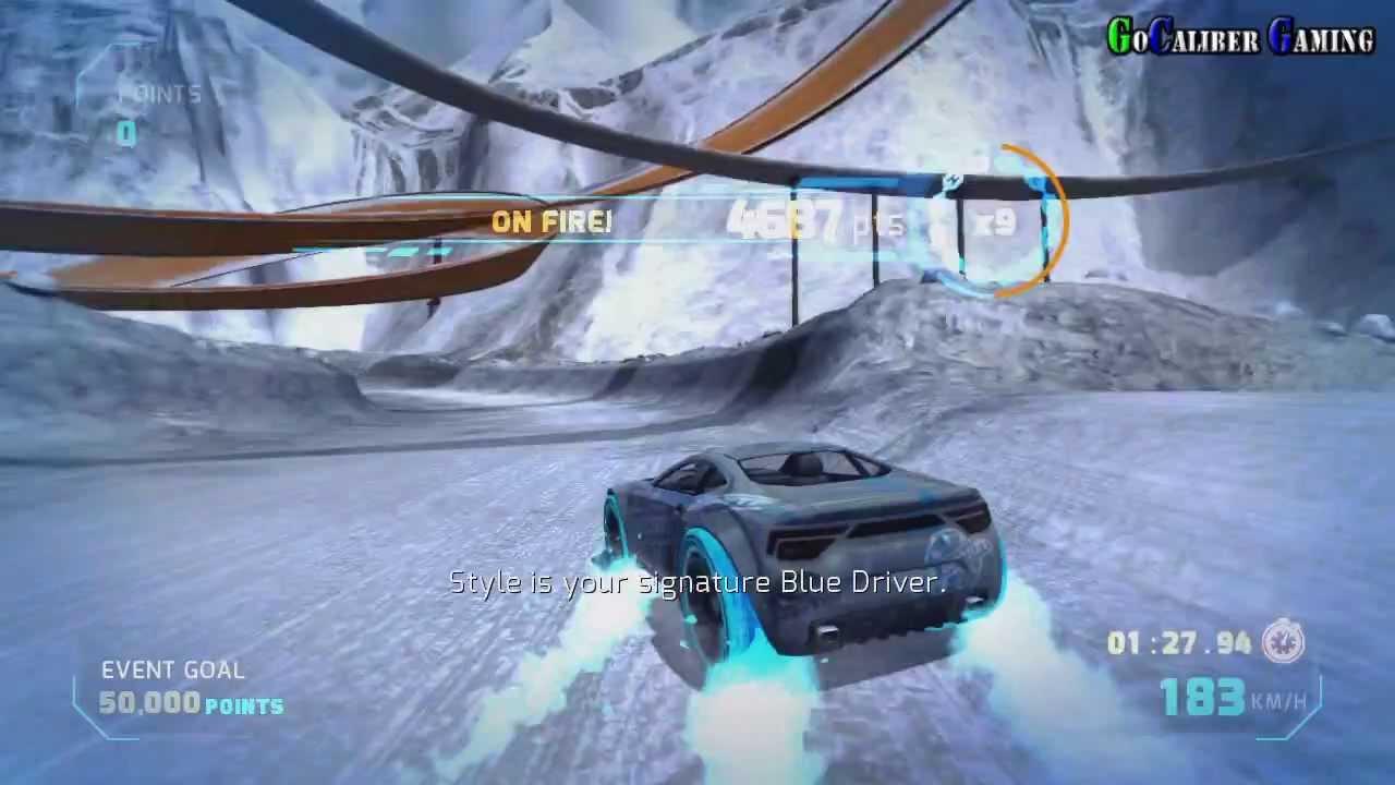Hot Wheels World S Best Driver Xbox 360 Gameplay Blue Team Part