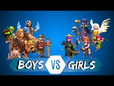 Boys vs Girls - Clash of Clans