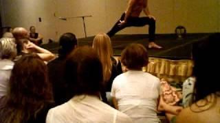 Yoga demonstration in Miami Sept 12- Matt Pesendian
