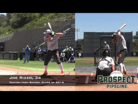 Joe Rizzo, 3b, Oakton High School, HR Derby at PG All American Classic