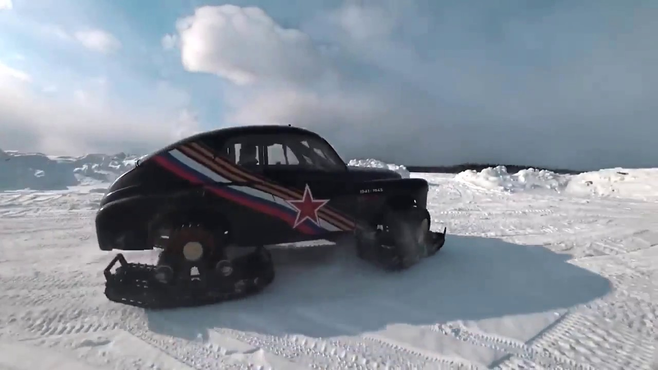 Победа на гусеницах Stalker Track / motux.ru