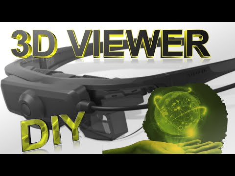 How to Make a Stereoscope 3D Viewer For a Smartphone
