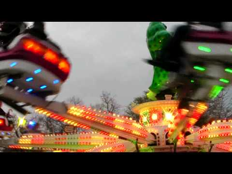 chapel field fairground ride in HD