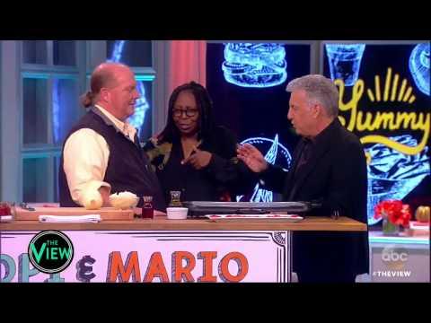 Whoopi Goldberg & Mario Batali's Philly Cheesesteak | The View