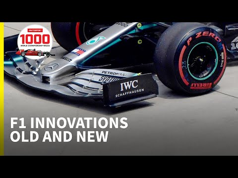 Mercedes' New Wing And A Look Back At Classic F1 Innovations