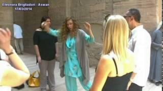 Eleonora Brigliadori in Egitto