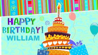 William - Animated Cards - Happy Birthday