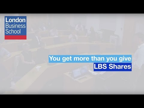 You get more than you give | London Business School