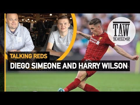 Diego Simeone & Harry Wilson  Talking Reds