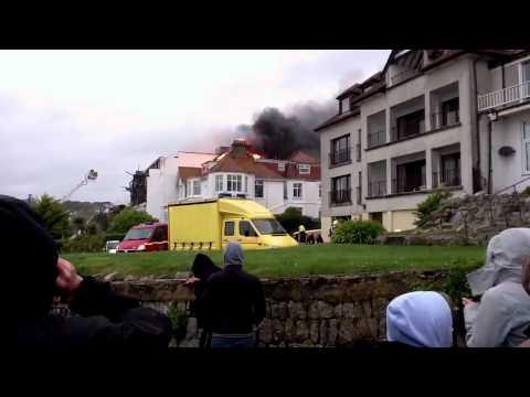 Fire At Falmouth Beach Hotel