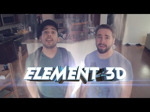 Use 3D Objects In After Effects With Element 3D!