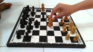 Trik main catur 4 langkah mati