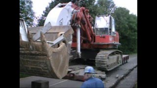 Heavy Haulage Wide Load Big Dump Trucks transport