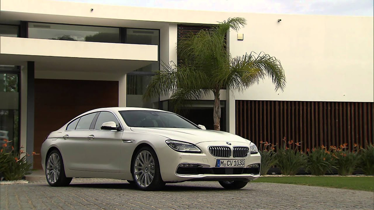 650i Gran Coupe >> 2015 BMW 6-Series Gran Coupe exterior design - YouTube